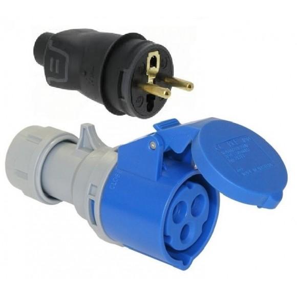 Location Adaptateur électrique,32A, Distribution  électrique montpellier Nimes